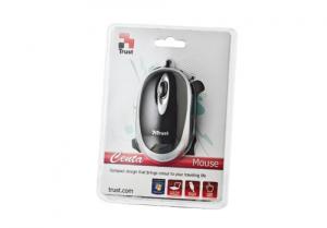 Trust Centa Mini mouse USB Ottico Ambidestro