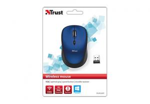 Trust 19663 mouse RF Wireless Ottico 1600 DPI