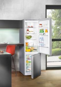 Liebherr CNPel 4813 frigorifero con congelatore Libera installazione Argento 338 L A+++