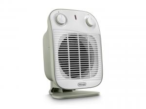 DeLonghi HFS50B20.GR Riscaldatore ambiente elettrico con ventilatore Interno Verde, Bianco 2000 W