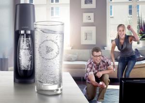 SodaStream Spirit Plastica Nero