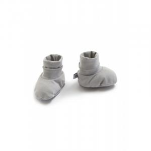Scarpine babbucce neonato Pure Bamboom Grey Ivory