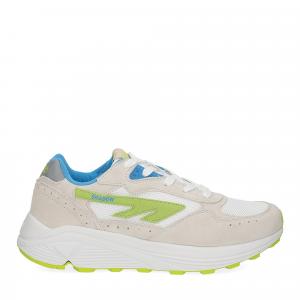 Hi-Tec Sneaker Shadow white blue lime-2