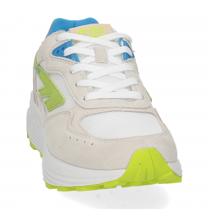 Hi-Tec Sneaker Shadow white blue lime-3