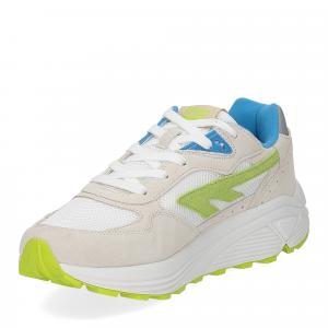 Hi-Tec Sneaker Shadow white blue lime-4