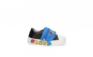 Sneakers Alicia 5 Me Contro Te con marsupio black/blu LIU JO