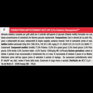 PURINA PRO PLAN VETERINARY DIETS CAT DM DIABETIC BUSTE 10x85 GR