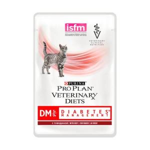 PURINA PRO PLAN VETERINARY DIETS CAT DM DIABETIC BUSTE 85 GR