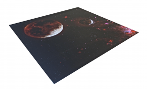 X WING compatible MAT - Mustafar themed