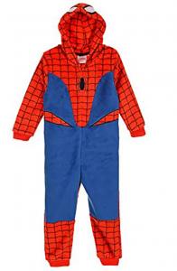 Pigiama intero Spiderman da 3 a 8 anni
