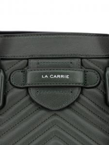 Borsa a mano La Carrie 102P-GA-111-LEA/DK-GR Verde