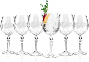 Set di 6 calici in cristallo aperitivo 53,2 cl Alkemist cm.22,5h diam.10