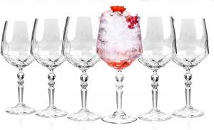 Set di 6 Bicchieri in Vetro Dof 34,6 cl Alkemist cm.23,65h diam.10,4