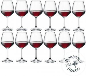Set 12 calici vino rosso cl 53 Divino cm.21,5h diam.9,8