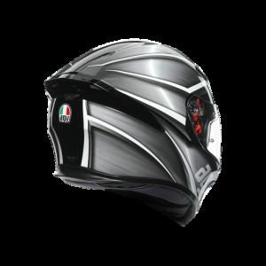 Casco AGV K5 S Tempest Black/Silver