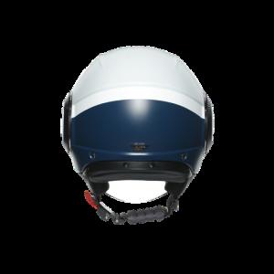 Casco AGV Orbyt Block Matt Light Grey/Ebony/White