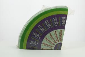 MANTUANELLA UGUALE VERDE SENZA LATTOSIO CON CAGLIO VEGETALE 1/8 FORMA - 4 kg sottovuoto (peso variabile)