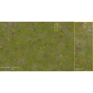 Wargaming MAT - Grass Land 6' x 4'