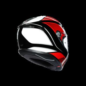 Casco AGV K6 Hyphen Black/Red/White
