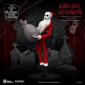 Nightmare before Christmas Action Figure: SANTA JACK SKELLINGTON by Beast Kingdom