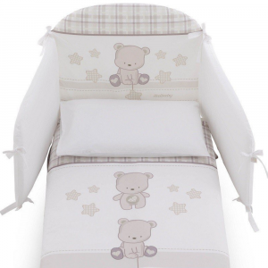 Set Piumino Paracolpi linea London by Italbaby | 4 Pz
