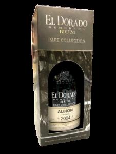El Dorado Demerara Rum Rare collection Albion Riserva 2004 - Guyana