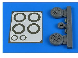 J-29 Tunnan Wheels & Paint Masks