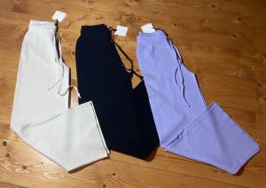 Pantaloni in maglia con coulisse Vicolo