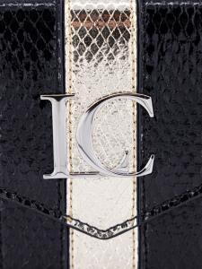 Pochette La Carrie 101M-K-835-BL-GO Nero/Oro
