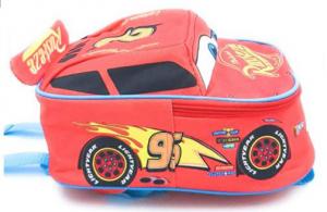 Saetta Mcqueen Cars 3 3D Zaino Scuola Personaggio Disney - Regalo perfetto per bambini 30 x 14 x 21 cm