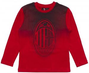 T-Shirt Milan Manica Lunga M041 per Bambino (tg. l 8 Anni)