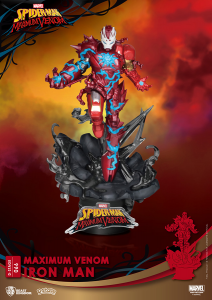 *PREORDER* D-Stage Maximum Venon Statua: IRON MAN by Beast Kingdom