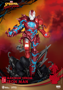 *PREORDER* D-Stage Maximum Venon Statua: IRON MAN by Beast Kingdom