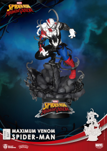 *PREORDER* D-Stage Maximum Venon Statua: SPIDER-MAN by Beast Kingdom