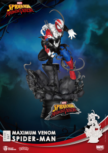 *PREORDER* D-Stage Maximum Venon Statua: SPIDER-MAN by Beast Kingdom