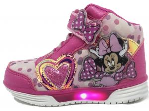 Scarpe Minnie con luci Mid Bambina dal 24 al 32 Disney Inverno 2021