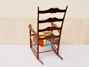Sedia a dondolo vintage