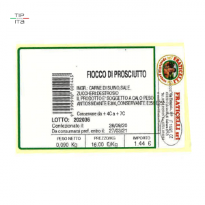 Fiocco di Prosciutto (Culatello) - 1,2Kg-2,4Kg