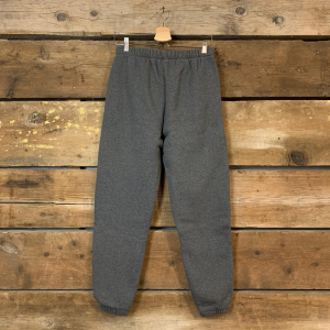 Pantalone Unisex American Vintage Jogging in Cotone Felpato Grigio Antracite
