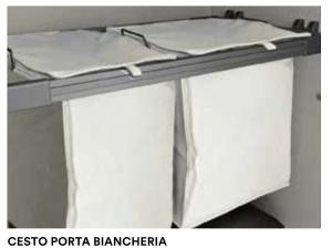 PORTA-BIANCHERIA ESTRAIBILE PER ARMADI VOLO