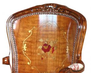 Klassischer Sessel Blumenmotiv - PROMO