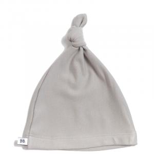 Cuffietta nascita per neonato Elf Hoodie Bamboom Grey Ivory