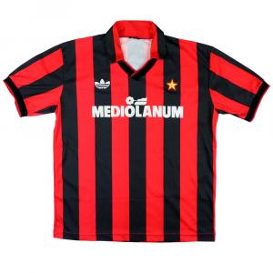 1991-92 Ac Milan maglia Home M