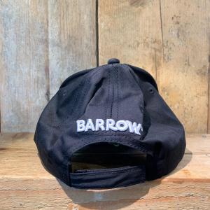 Cappellino Barrow con Visiera a Becco e Smile Nero