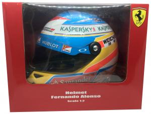 Fernando Alonso Helmet Scuderia Ferrari  2014 1/2 Scale