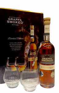 Grappa Smoked Barrique rovere vinacce rosse cl. 50 - Dist. Bepi Tosolini - (Udine)