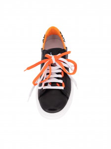 Patrizia Pepe Sneakers 2V9708 A3KW FB19 Nero/Arancio/Bianco
