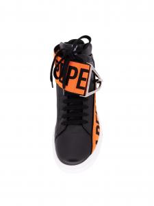 Sneakers Patrizia Pepe 2V9838 A3KW K103 Nero/Arancio/Bianco