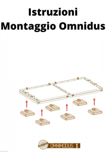 Mobile Quadrato a Quattro Vani e Due Ante Liscio Plastica