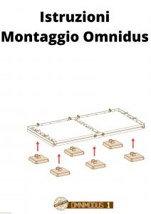 Mobile Armadio Verticale con Quattro Moduli Quattro Ripiani e Quattro Vani Aperti